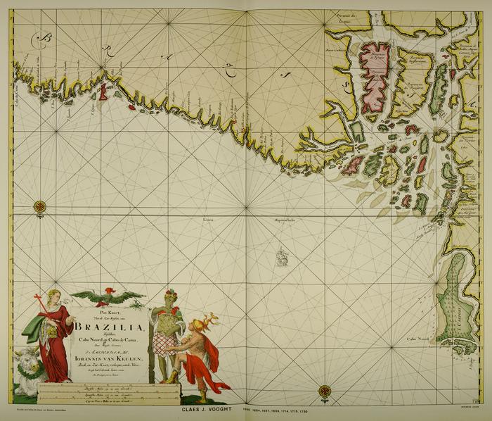 Brazilia. Frontières entre le Brésil et la Guyane française  C. J. Vooght