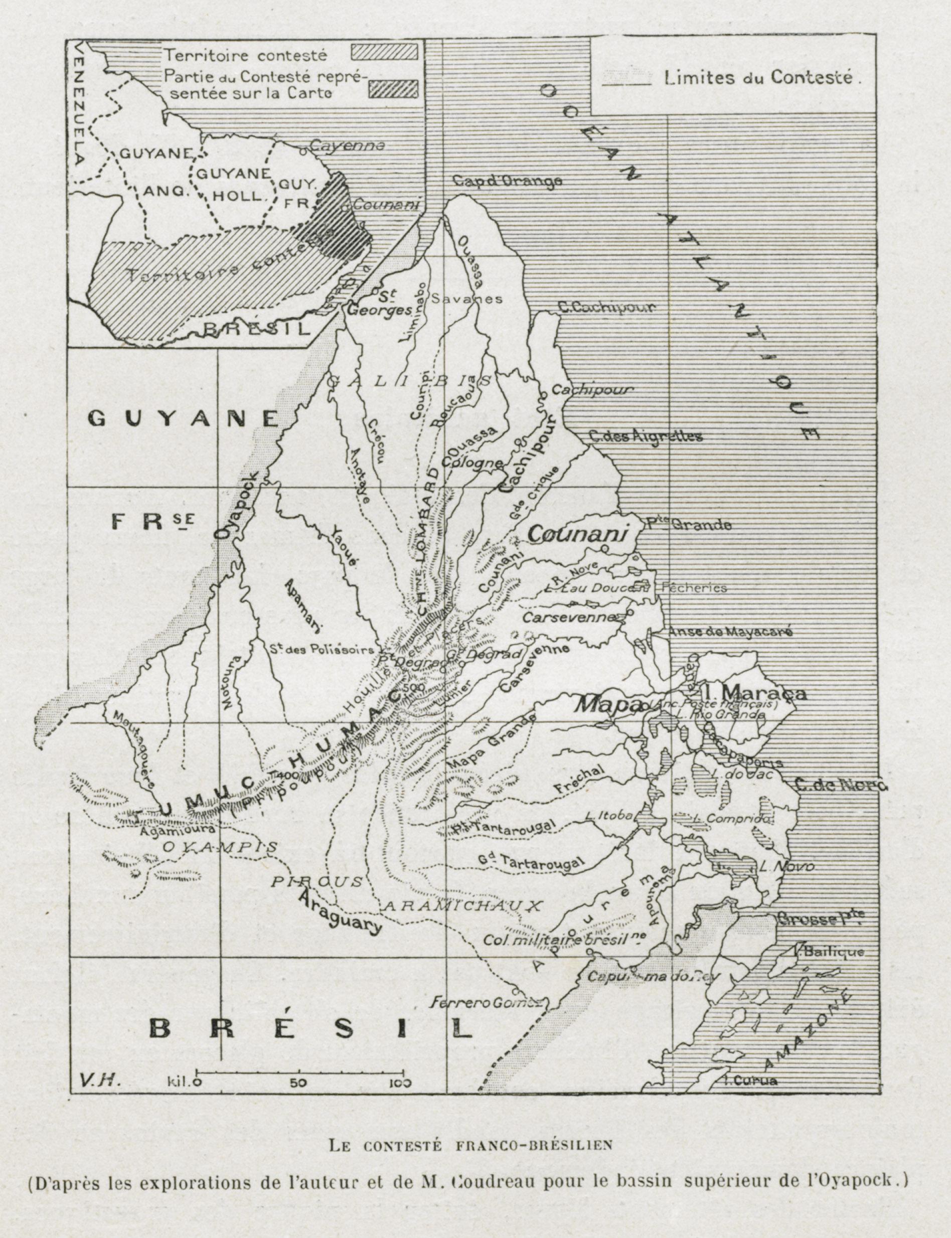 Les richesses de la Guyane Française et de l'ancien contesté franco-brésilien : 11 ans d'exploration  J. Brousseau